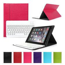 """Deutsche Tablet-Tastatur + Schutzhülle für 10,1"""" 10"""" Samsung Galaxy Tab 4 rosa"""