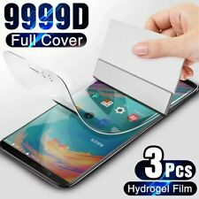 Screen Protector For OnePLus 7T 6T 5T 8T Pro 7 6 5 8 Full Cover Hydrogel Film 1+