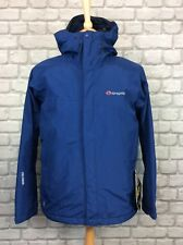 SPRAYWAY MENS UK S KENAI GORE-TEX NAVY BLUE JACKET FULL ZIP HOODED RRP £180
