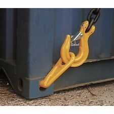LEFT 45 DEGREE G80 SEA CONTAINER LIFTING HOOK, Shipping, Cargo, Storage, Moving