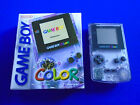 Gameboy Color Console CLEAR PURPLE Boxed Game Boy Colour Nintendo PAL