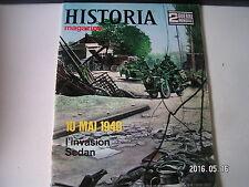 **a Historia Magazine n°8 10 mai 1940 / L'invasion Sedan