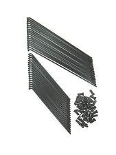 1 Satz Speichen EMW R35 Vorderrad schwarz/chrom Kleeblatt