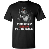 Donald Trump 2024 Election I'll Be Back T-Shirt Funny Elect The Return Tee Gifts
