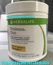NEW Herbalife PROLESSA DUO 11.2 oz Weight Management Powder - 30 Day Supply
