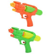 "2 x 10"" Water Pistol Kids Water Gun 16cm Super Soaker Shooter Pool Beach 1690"