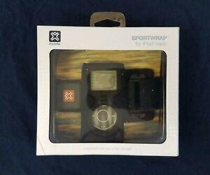 Vintage 2005 1st Generation iPod Nano Arm Band Black Sportwrap Xtreme Mac New!