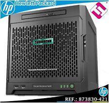 SERVIDOR HP ENTERPRISE MICROSERVER G10 AMD 3216 DUAL CORE 3,4GHZ 8GB (PENINSULA)
