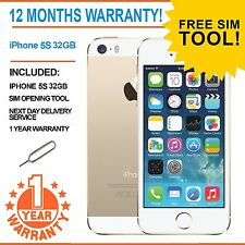 Apple iPhone 5S 32GB EE Orange T-Mobile Virgin Mobile - Gold