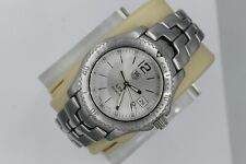 Tag Heuer Watch Mens WT1112.BA0550 Link Mint Crystal PROFESSIONAL Silver Sport