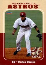 2012 Greeneville Astros Carlos Correa Gurabo Puerto Rico PR Baseball Card