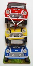 "Mini Cooper Clock - ""Stacked!"" - M-RYB"