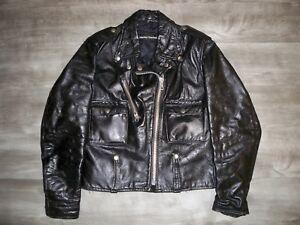 Vintage AMF Harley Davidson Motorcycle Biker Women's Queen Cycle Jacket Coat 36