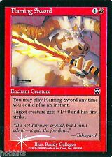 MTG - Mercadian Masques - Flaming Sword - Foil - NM