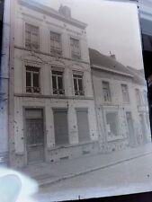 Maison - Braine-le-Comte - Après bombardements - Ancien Négatif plaque de verre