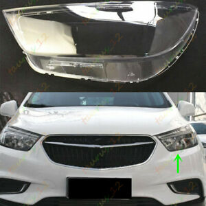 Left Side Headlight Headlamp Clear Lens Cover +Glue For Buick Encore 2016-2018