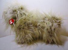 "15"" Large Ty Classic Duster Plush Stuffed Toy Dog Lhasa Apso Shih Tzu 1999"