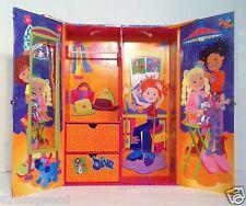 HTF EUC RARE Groovy Girls Doll House Wardrobe Carrying Case Manhattan Toy Co