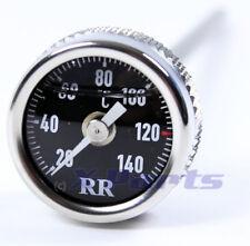RR Temperatura Del Aceite Indicador Termómetro Harley Davidson Night Rod Negro