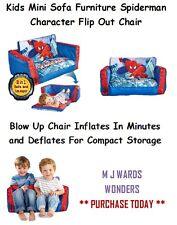 Kids Mini Sofa Furniture Spiderman Character Flip Out Chair ** BID TODAY **