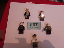 LEGO MINIFIGURES MINFIG X 5 BUNDLE JOB LOT BULK CITY CREATOR POLICE TOWN #597