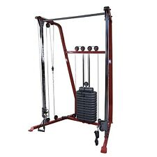 Functional Trainer w/ 190 lb weight stack, Best Fitness BFFT10 Home Gym Machine