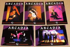 "DURAN DURAN Arcadia Set Of Five 6""x 4"" Postcards. GIFT IDEA"