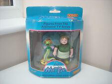 VINTAGE 1995 MAGIC avventure di MUMFIE l'onorevole ADMIRAL & Electric Eel FIGURE