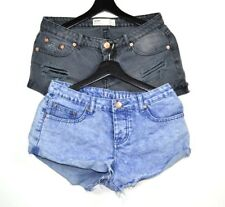 Cotton On x2 Denim Shorts Womens Size 8