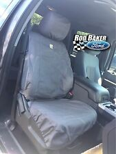 2011-2016 Ford Super Duty Carhartt Seat Covers Gravel Captains Chair Front Set