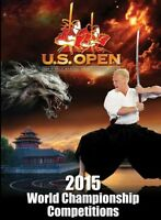 2015 U.S. Open World Karate Championships 2 hours DVD