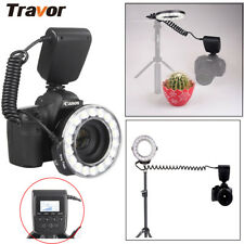 Off-Camera Shooting RF600D Macro 18LED Ring Flash Light For Canon Nikon Sony