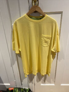 Tommy Bahama Mens Shirt Yellow 2XL new with tag