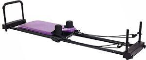 Stamina AeroPilates Reformer Plus 379 Pilates Exercise w Cardio Rebounder New