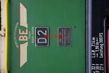 PHOTO  LOGO OF THE BROHLTALBAHN AND NUBER AND WORKS PLATE OF METRE GAUGE 300HP 0