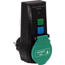 FI Schutzschalter Schalter Adapter Stecker 230V 16A 0,03A Personenschutz