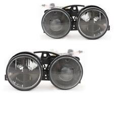 Scheinwerfer Set für BMW E30 schwarz H1/H1 Xenon-Optik DE Linse Fadenkreuz UZD