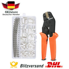 Ratschen Crimpzange + 460pcs 2,54 mm JST-XH JST Stecker Pin Header für AWG28-18