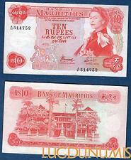 Ile Maurice – 10 Rupees 1967 Elisabeth II NEUF UNC – Mauritius