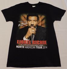 #2968-6 Lionel Richie - CeeLo Green North American Tour 2014 2-Sided Graphic T-S