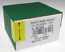 (25) 1.00 ounce 1 oz MC Style Wheel weight, USA MADE Perfect Equipment