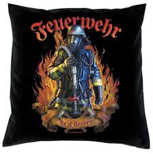 Kissen 40x40 - Feuerwehr - Real Heroes - Geschenk