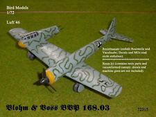 Blohm & Voss BVP 168.03        1/72 Bird Models Resinbausatz / resin kit