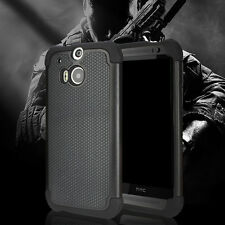 [Drop Protection] HTC ONE M8 Armour Case Double Layer Hybrid [Shock Absorbent]