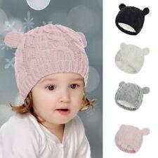 Toddler Kids Girl&Boy Baby Infant Winter Warm Crochet Knit Hat Beanie Cap US