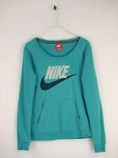 Nike Trainingspullover Pullover Sweater Top Damen Blau Gr. XS