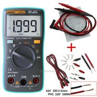 True-RMS Digital Voltmeter Ammeter Ohmmeter Multimeter Volt AC DC Tester Meter