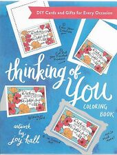 Colorful Greetings: Thinking of You Coloring Book : DIY Cards and Gifts for Ever