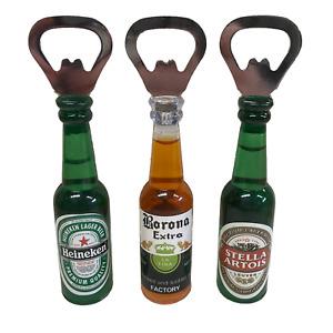 Beer Magnetic Bottle Opener Fridge Magnet Mens Novelty Gift Bar Accessory UK