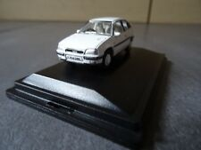 Vauxhall Astra Mk II - 1:76 Scale model car in White colour - New in Box